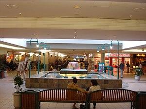 Scotia Square - Interior of Scotia Square (fountain removed in 2012)
