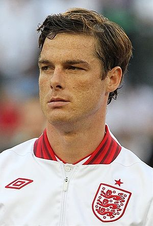 Scott Parker - Parker with England at UEFA Euro 2012