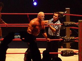 Scott Steiner - Steiner at a house show in TNA