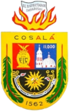 Official seal of Cosalá Municipality
