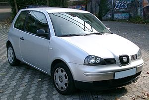 SEAT Arosa - Image: Seat Arosa front 20071029
