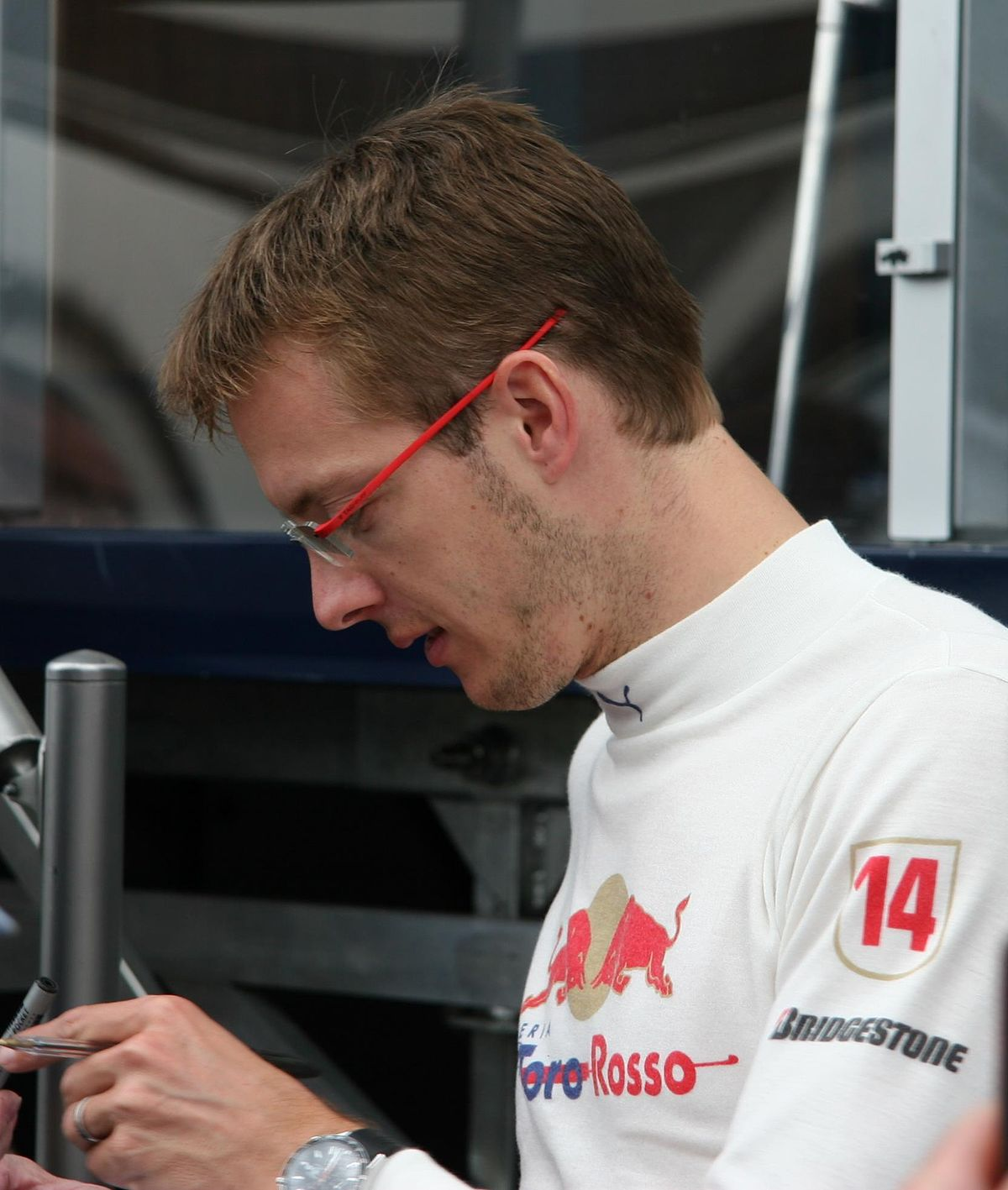 Sabastian Bourdais Indy Car Crash During  Qualifying