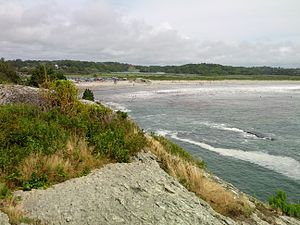 Middletown, Rhode Island - View of Second Beach in Middletown, Rhode Island