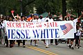 Secretary of State Jesse White at the Bud Billiken Parade 2015 (20404418986).jpg