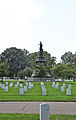 Secton 16 W at Confederate Monument - Arlington National Cemetery - 2011.JPG
