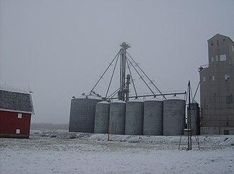 Sedalia, Indiana - Grain elevator in Sedalia