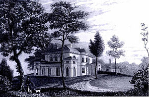 Sedgeley - Engraving of Sedgeley House in Views in Philadelphia and its Environs (Philadelphia, 1830)