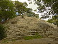 Semi-Excavated Pyramid - Edzna Archaeological Site - Campeche State - Mexico.jpg