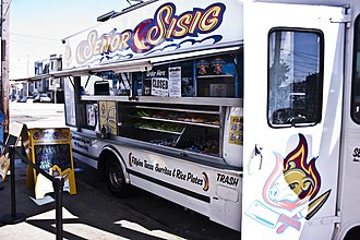 Filipino Americans - A Filipino fusion food truck in the San Francisco Bay Area