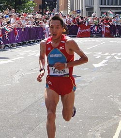 Ser-Od Bat-Ochir (Mongolia) - London 2012 Mens Marathon.jpg