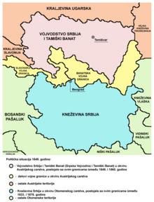Istorija Vojvodine 220px-Serbia1849_sr_latin