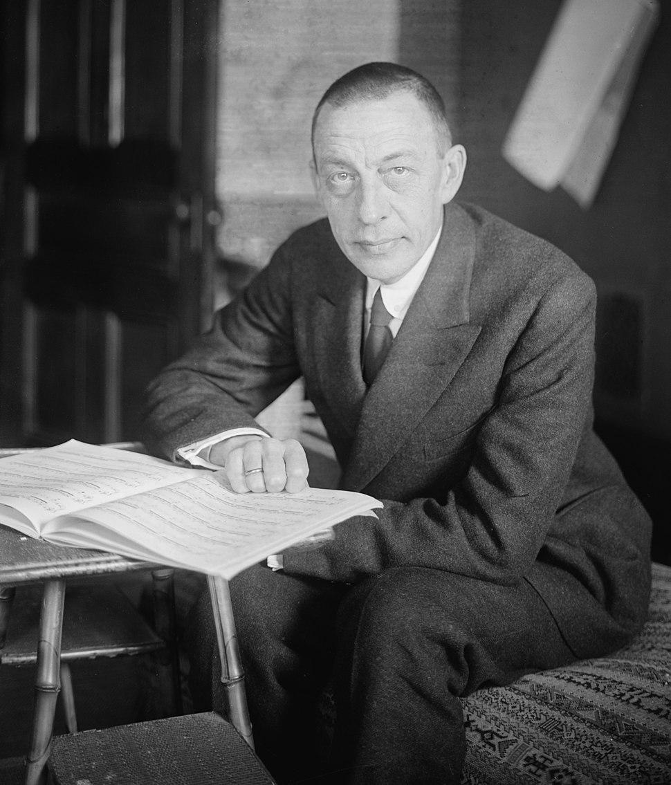 Sergei Rachmaninoff LOC 31755