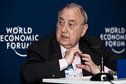 Sergiu Celac at the World Economic Forum on Europe 2011.jpg