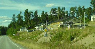 Setskog Village in Østlandet, Norway