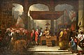 Shah Alam II, Mughal Emperor, Conveying the Grant of the Diwani to Lord Clive, August 1765.jpg