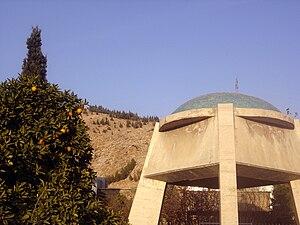 Shah Shoja Mozaffari - Picture of the tomb of Shah Shoja in Shiraz.