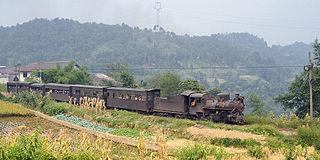 Narrow-gauge railways in China