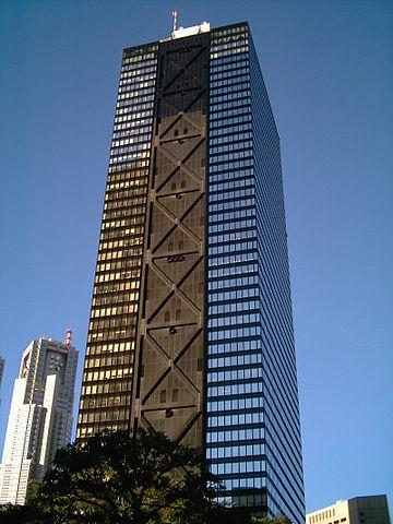 ジャパンネット銀行の本店(新宿三井ビルディング)