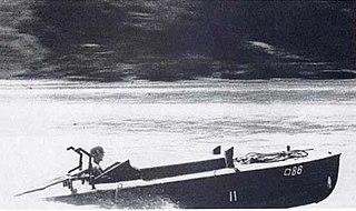 Japanese suicide motorboat
