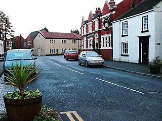 Wolviston village in United Kingdom