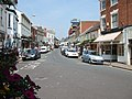 Shopping area just off the seafront, Sidmouth. - geograph.org.uk - 198434.jpg