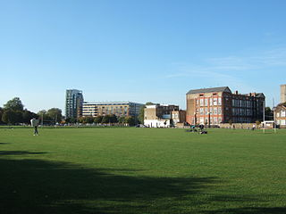 open space in Shoreditch, east London