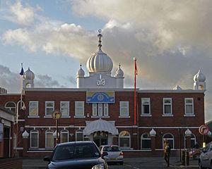 Ravidas - A Guru Ravidass temple in the UK.