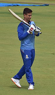 Siddhesh Lad Indian cricketer