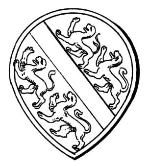 County of Kyburg - Image: Siegel Graf Dillingen 1194 Sm
