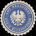 Siegelmarke Amt Sehestedt Kreis Eckernförde W0345843.jpg