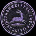Siegelmarke Bürgermeister Amt St. Blasien W0310016.jpg