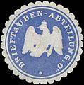 Siegelmarke Brieftauben-Abteilung O W0320240.jpg