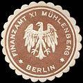 Siegelmarke Finanzamt XI Mühlenberg - Berlin W0227253.jpg