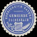 Siegelmarke Gemeinde Eschenbach K. Bayern W0352366.jpg