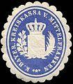 Siegelmarke Königlich Bayerische Kreiskassa von Mittelfranken W0235190.jpg