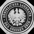Siegelmarke Königlicher Landrath des Kreises Znin W0216480.jpg