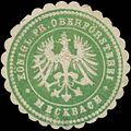 Siegelmarke K.Pr. Oberförsterei Meckbach W0354834.jpg