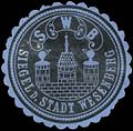 Siegelmarke Siegel der Stadt Wesenberg W0386622.jpg