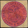 Siegelmarke Siegel des Magistrats der Stadt Zörbig W0386546.jpg
