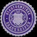 Siegelmarke Stadtgemeinde Braunseifen W0317688.jpg