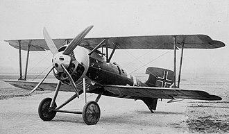 Jagdstaffel 22 - At least one Siemens-Schuckert D.IV was in Jasta 22's inventory at war's end.