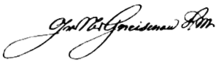 Signature August Neidhardt von Gneisenau.PNG