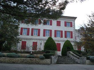 Simiane-Collongue - The town hall of Simiane-Collongue