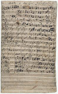 Singet dem Herrn ein neues Lied, BWV 225 motet by Johann Sebastian Bach