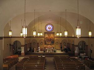 Saint Joseph Parish (Mountain View, California) - Altar of St. Joseph Parish