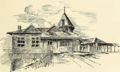 Sketch of the Fourth Street depot in Easton, 1889.png