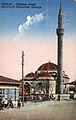 Skopje, razglednica so Duḱandžik dzamija, 1935.jpg
