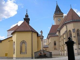 Sabinov - Churches in Sabinov