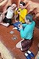 Small-time gamblers (Virtues and Vices display) Haw Par Villa (14607249149).jpg