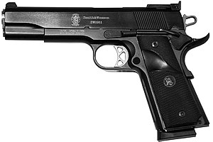 Smith & Wesson SW1911 - Image: Smith&Wesson SW1911